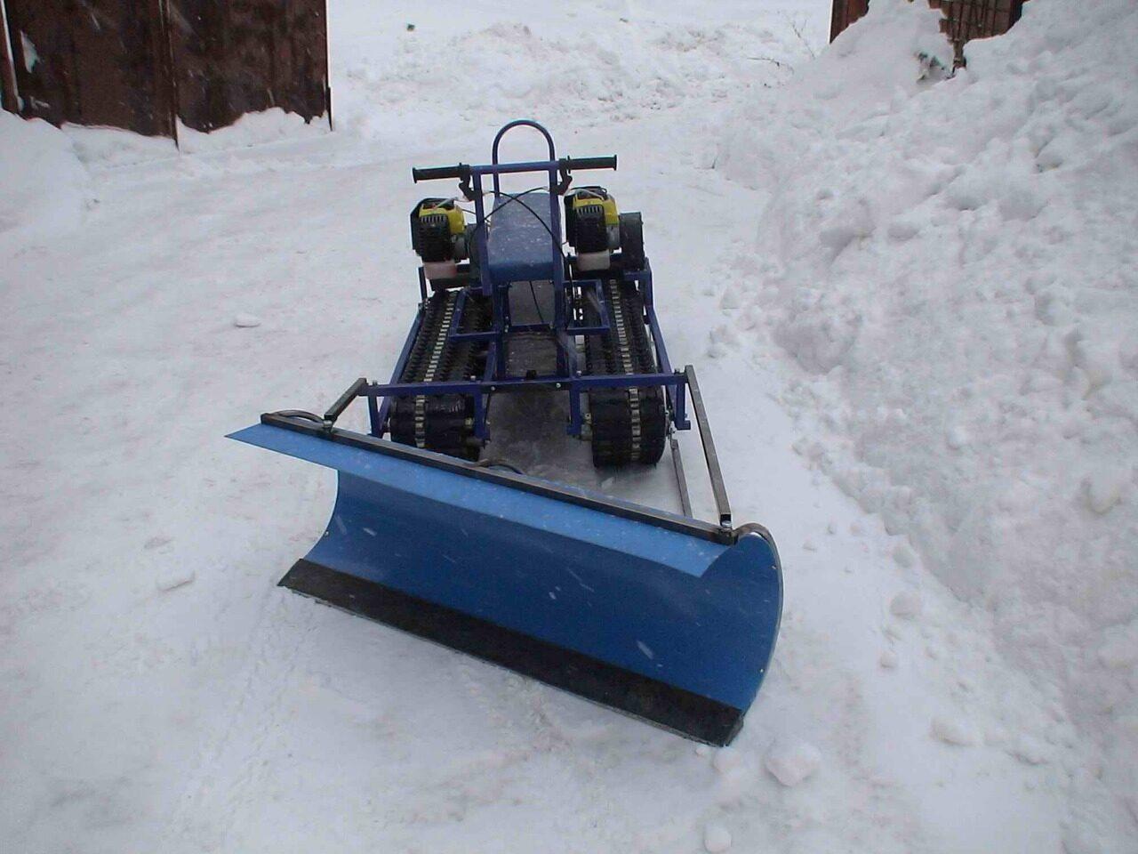Снегоуборочная машина своими руками: достойная альтернатива 48
