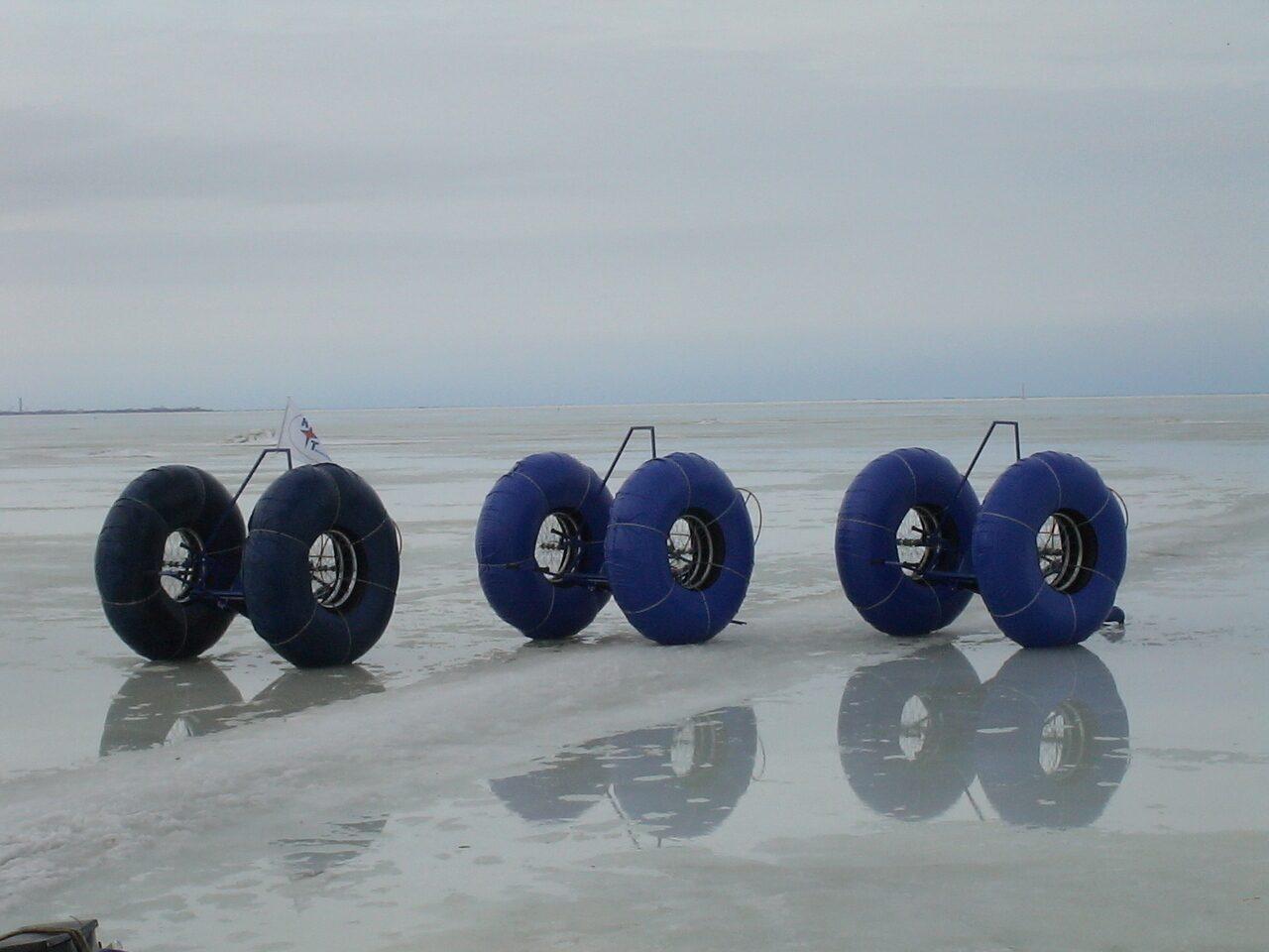 Необычный российский мини-вездеход «Кенгуру» удивляет своими возможностями